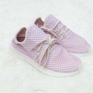 new style 5850d f04e3 adidas Shoes - Adidas Originals Deerupt Runner Lilac Sneakers 8